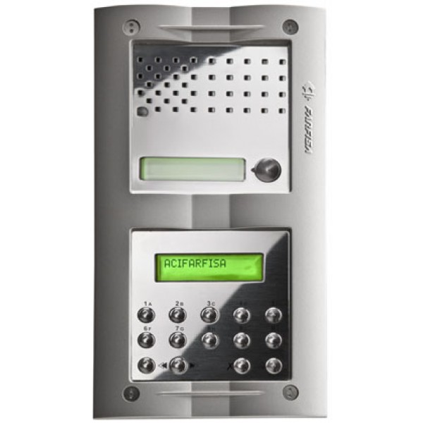 Farfisa Surface Mounted Audio Door Entry Kit With Keypad